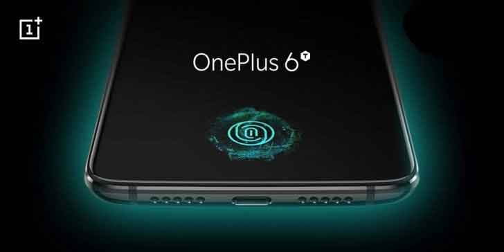 oneplus 6t is here