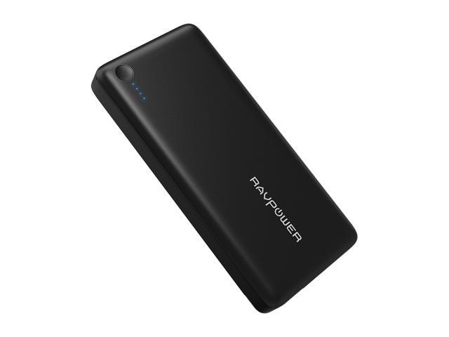RAVPower 20100 mAh QC 3.0 Power Bank External Battery Pack Portable Charger with Qualcomm Certified Quick Charge 3.0 - Black