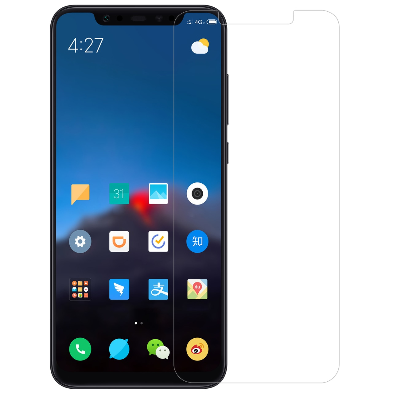Xiaomi Mi 8 H Premium Tempered Glass by Nillkin