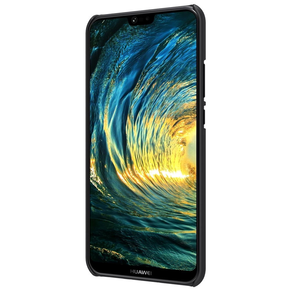 ... Huawei P20 Lite Frosted Shield Hard Back Cover by Nillkin Black