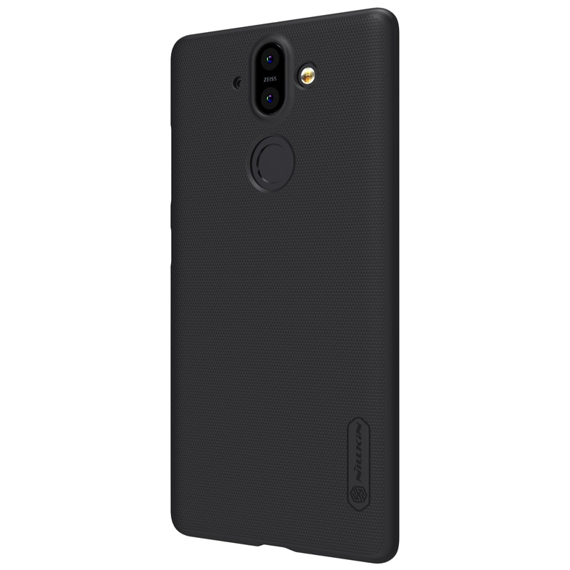 Nokia 8.1 (Nokia 8 Sirocco Edition) Frosted Shield Back Cover by Nillkin - Black