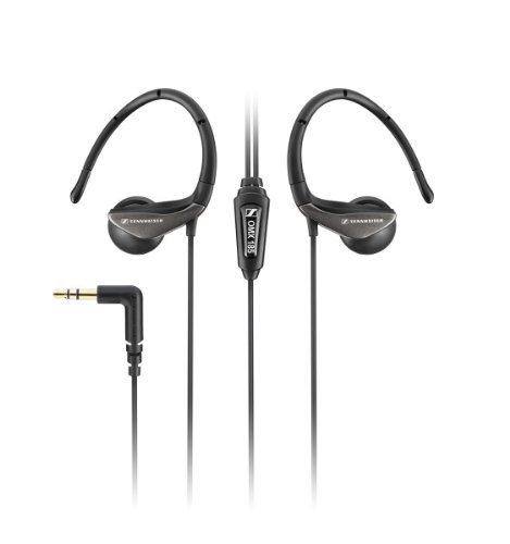 Sennheiser Flexible Clip-On Earphones Stereo In-Ear Earphones - OMX 185