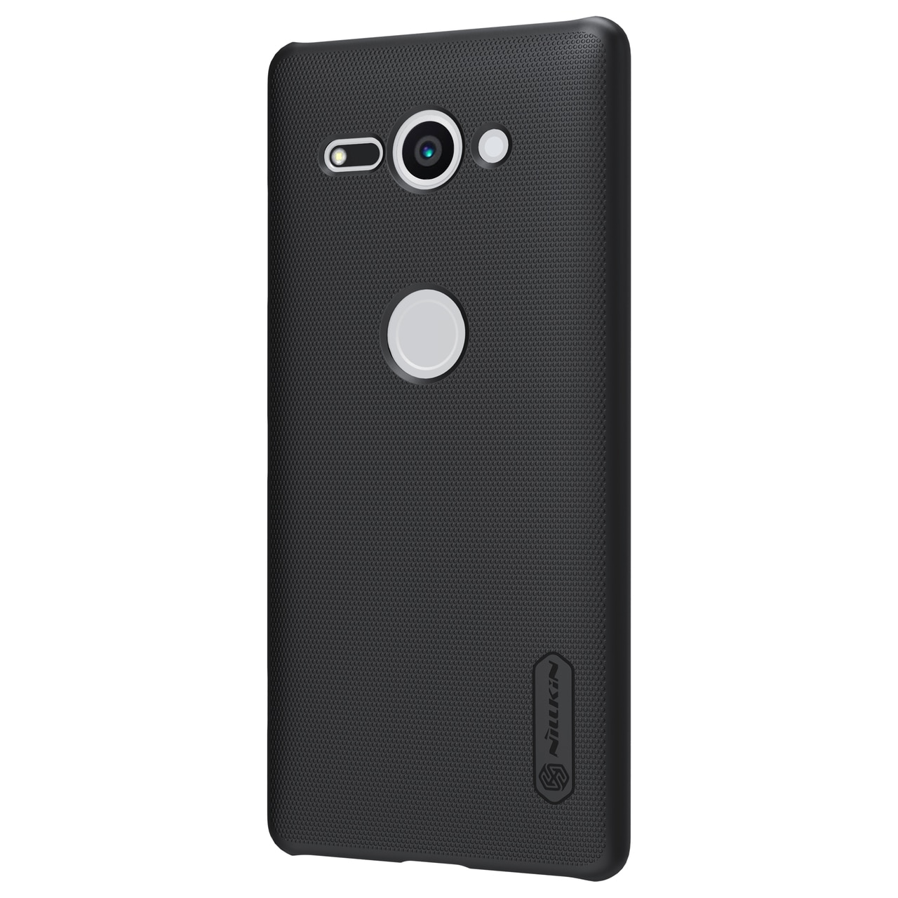 Sony Xperia XZ2 Compact Frosted Shield Hard Back Cover by Nillkin - Black