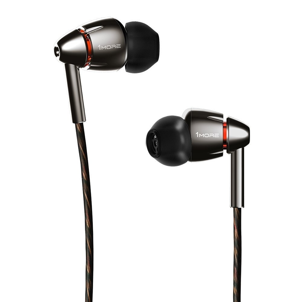 1MORE Quad Driver In-Ear Headphones (Earphones/Earbuds) with Apple iOS and  Android Compatible Microphone and Remote
