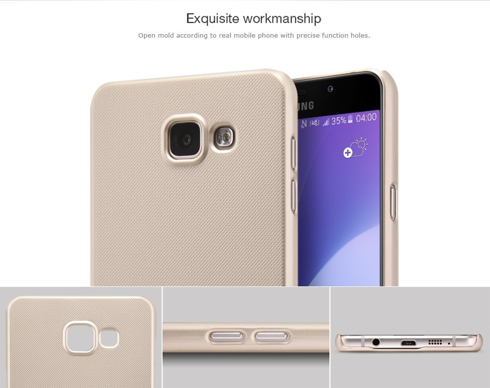 release date 042f8 a234b Original Frosted Shield Hard Back Cover for Samsung A7 (2016) in Pakistan