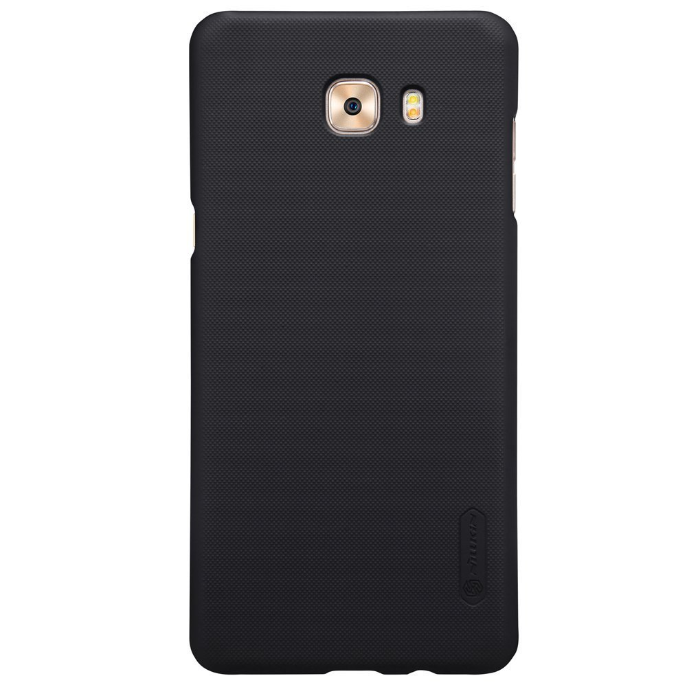 Samsung C9 Pro Frosted Shield Hard Back Cover by Nillkin - Black