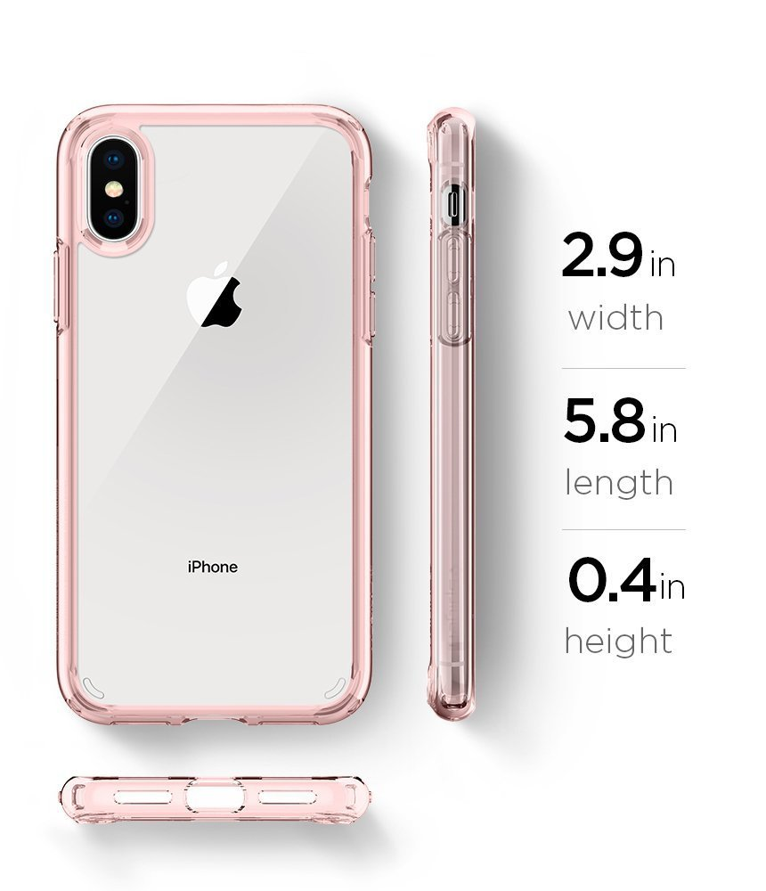 spigen clear iphone xs case