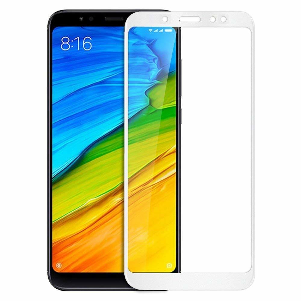 Mocolo Mi Redmi Note 5 / Note 5 PRO Edge to Edge Tempered Glass - White