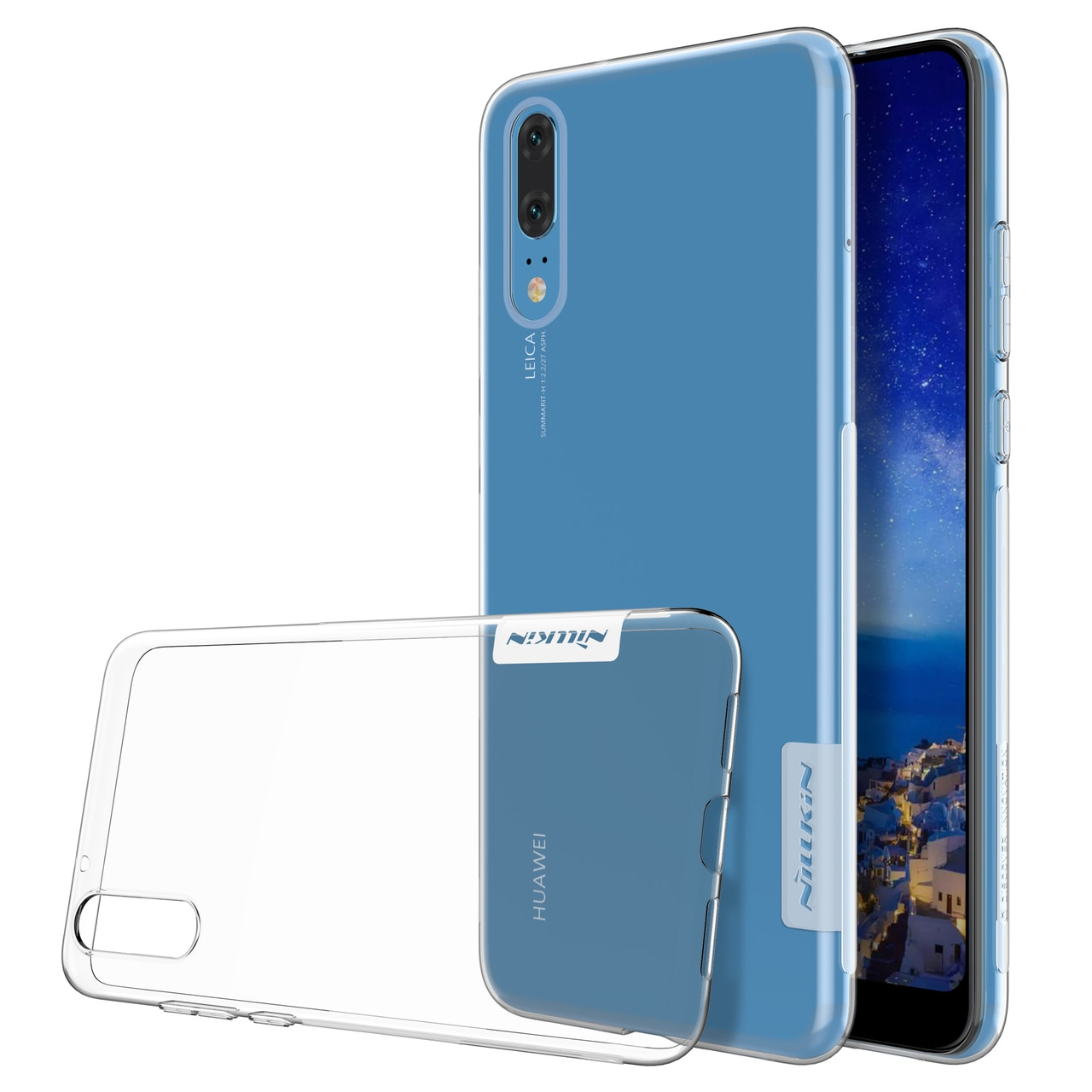 Huawei P20 Premium Silicon Cover by Nillkin - Transparent