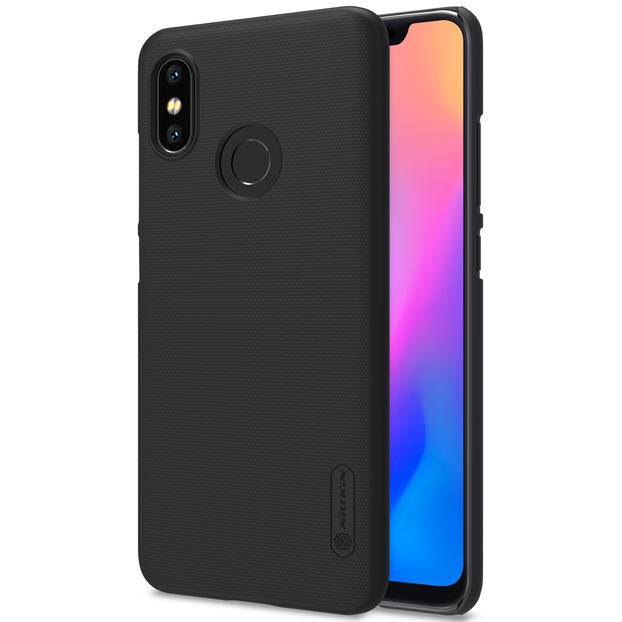 Xiaomi Mi 8 Frosted Shield Hard Back Cover by Nillkin - Black