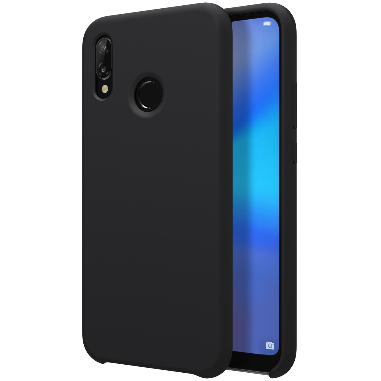 Huawei P20 Lite Flex Pure Soft Premium TPU Case by Nillkin - Black