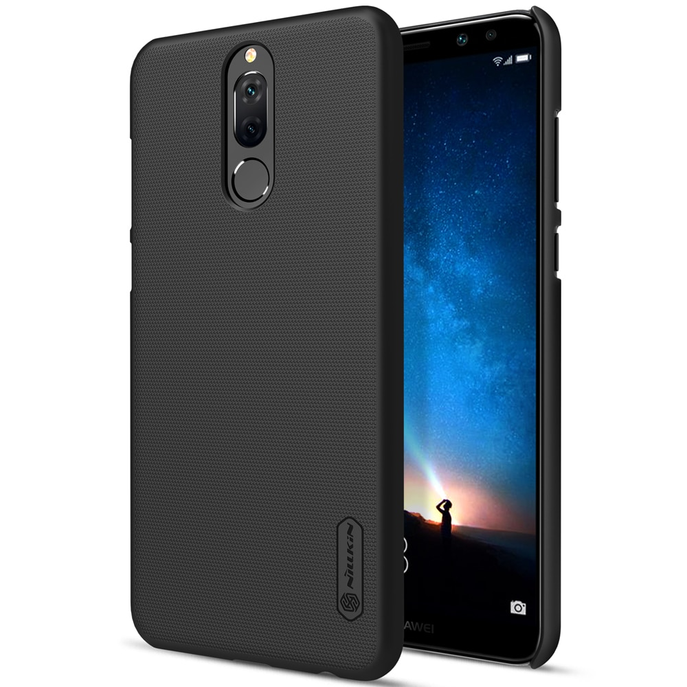Huawei Mate 10 Lite Frosted Shield Hard Back Cover by Nillkin - Black