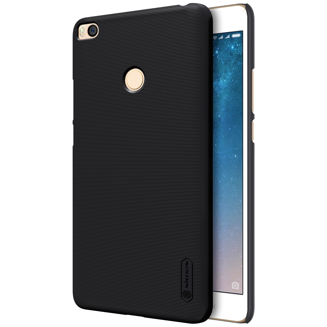 Nillkin Original Frosted Shield Back Cover for Mi Max 2 with FREE Screen Protector