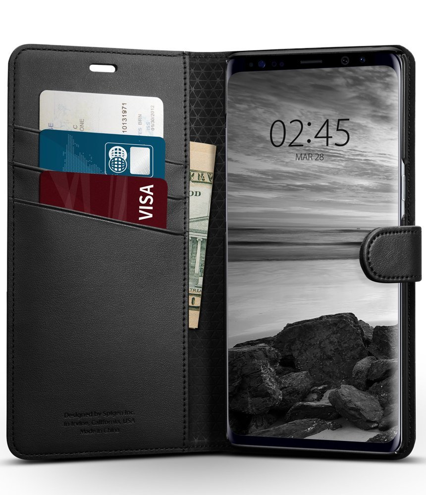 detailed pictures 79908 79dc1 Samsung Galaxy Note 8 Spigen Original Wallet S Flip Cover Case for Samsung  Galaxy Note 8 in Pakistan