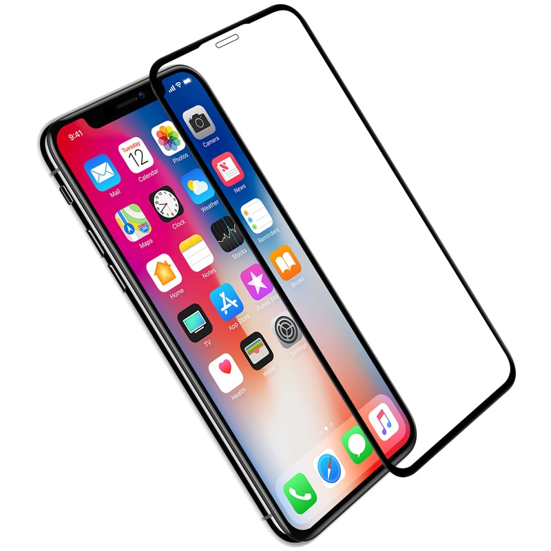 Apple iPhone XS Max Nillkin Full Coverage 3D CP+ MAX Tempered Anti-Explosion Protector