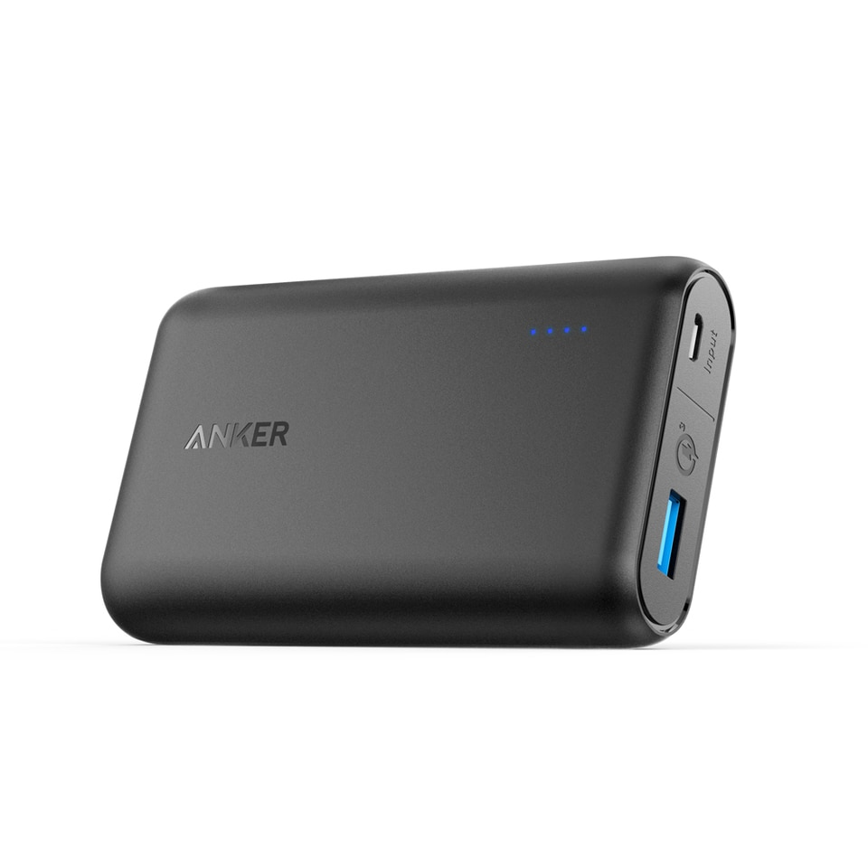 Anker PowerCore Speed 10000mAh Quick Charge 3.0 Black - (A1266011)