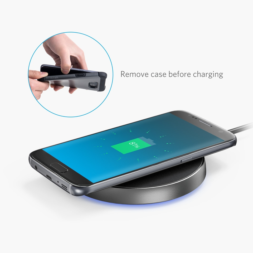 Anker Powertouch 10 Fast Wireless Charger Black In Pakistan Samsung Galaxy A8 Star Free Powerport A2512h11