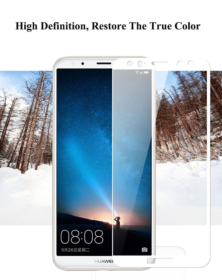 new arrivals af254 eb932 Mocolo Huawei Mate 10 Lite 3D Edge to Edge Tempered Glass - Black Price in  Pakistan