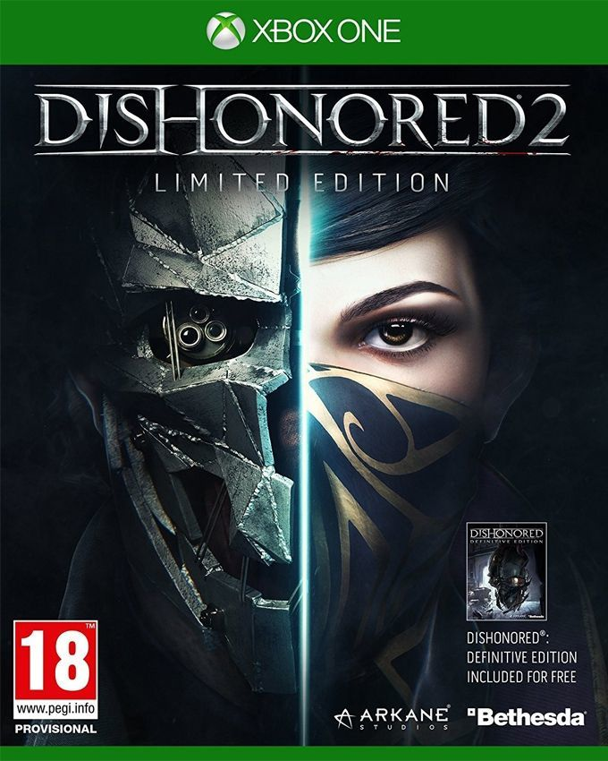 Dishonored 2 Limited Edition For Xbox One - Bethesda Softworks