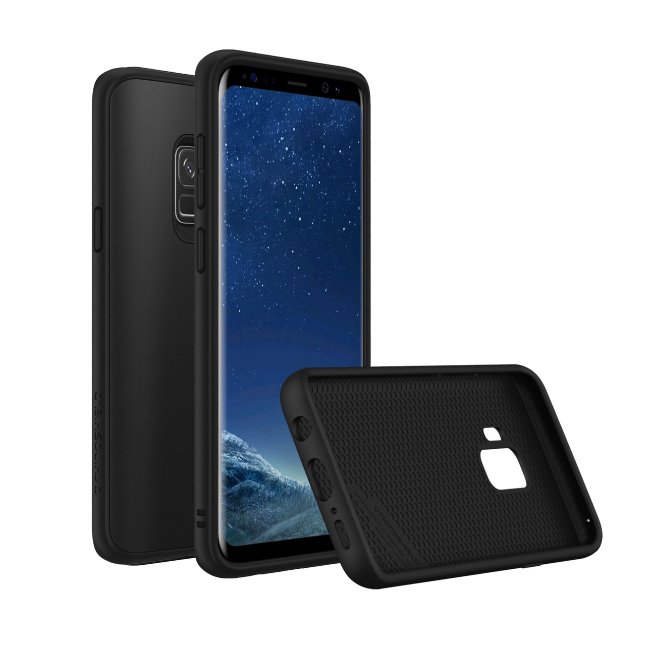 RhinoShield Samsung Galaxy S9 SolidSuit Case - Classic Black