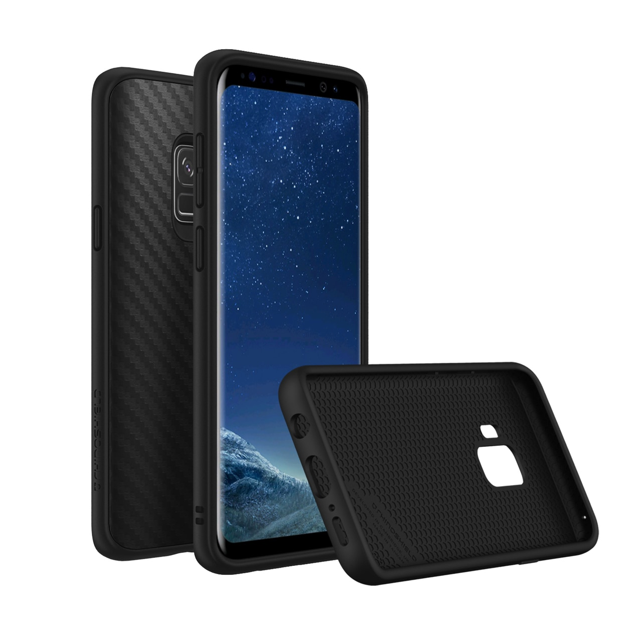 RhinoShield Samsung Galaxy S9 SolidSuit Case - Carbon Fiber