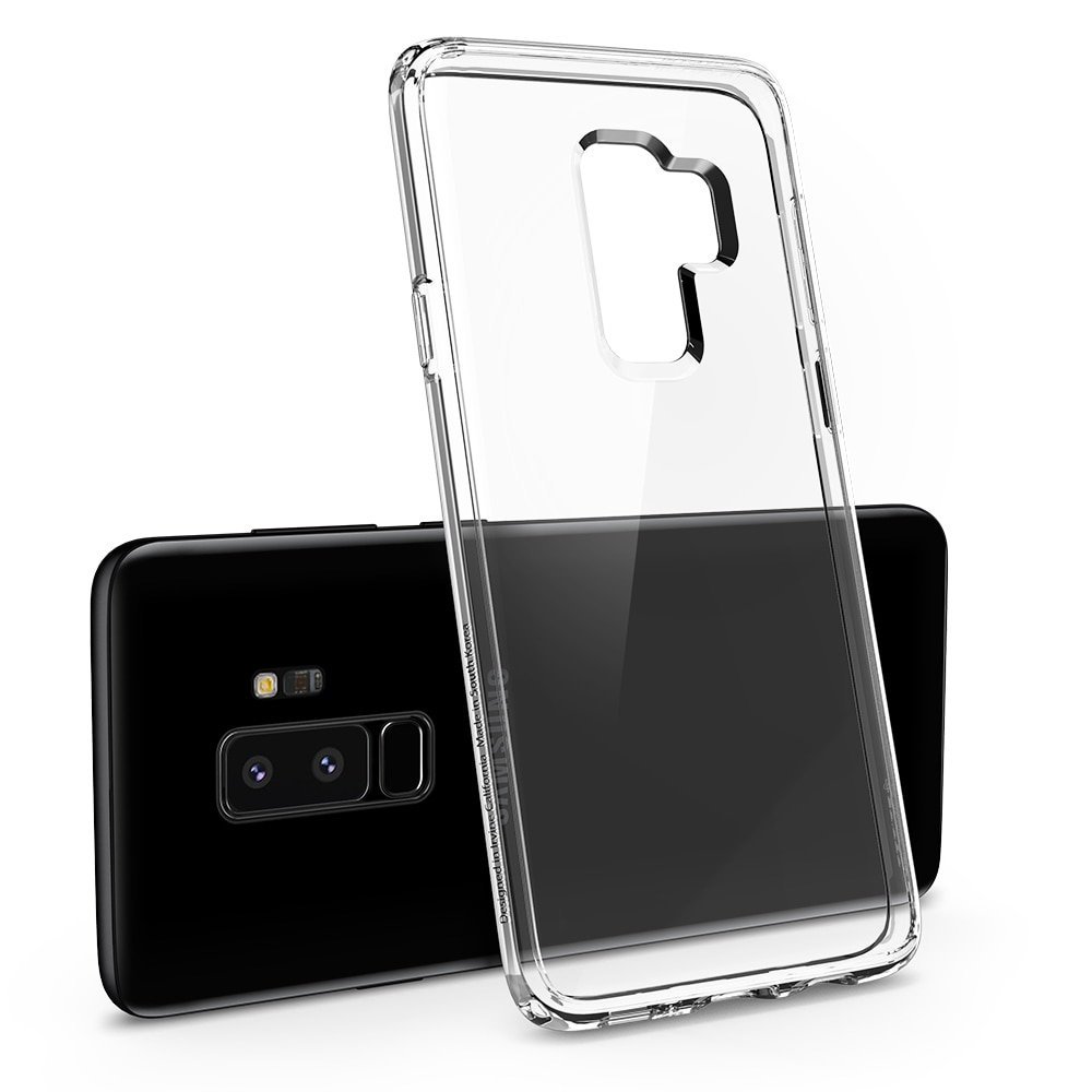 competitive price 7659b c29d7 Spigen Original Ultra Hybrid Case for Samsung Galaxy S9 Plus Crystal Clear  In Pakistan