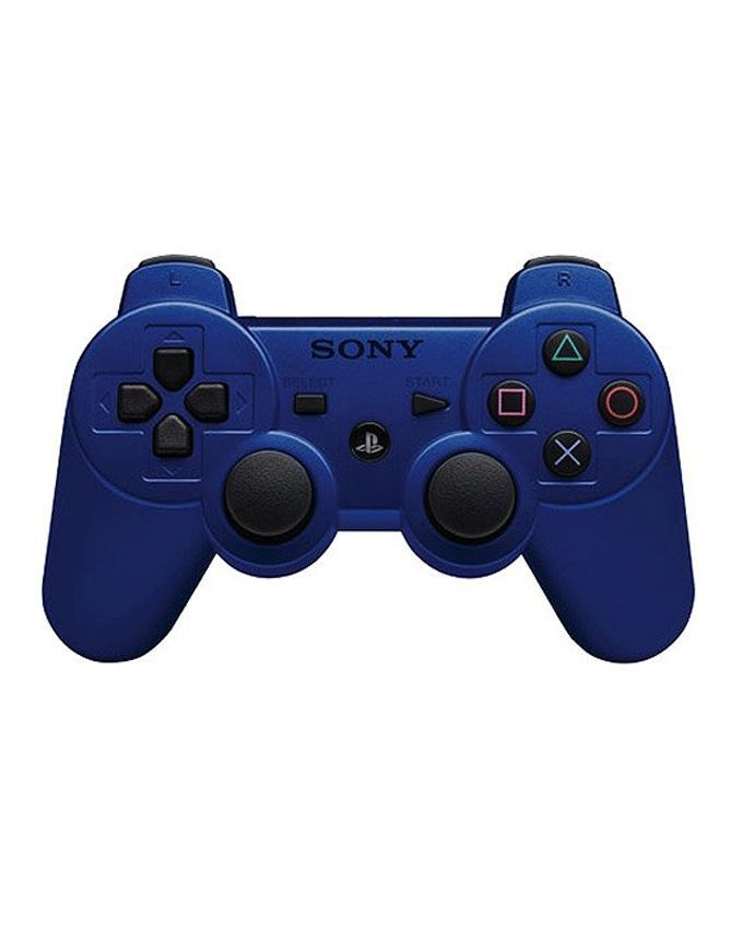 DualShock 3 Wireless Controller for PlayStation 3  Blue - Games Arena