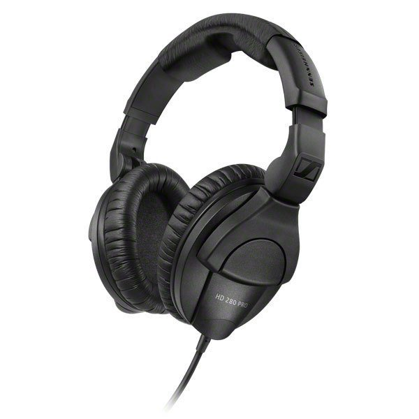Sennheiser Closed-back Studio and Live Monitoring Headphones - HD 280 Pro Black