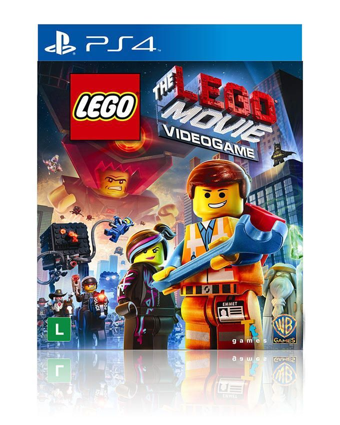 Lego Movie VideoGame For PlayStation 4
