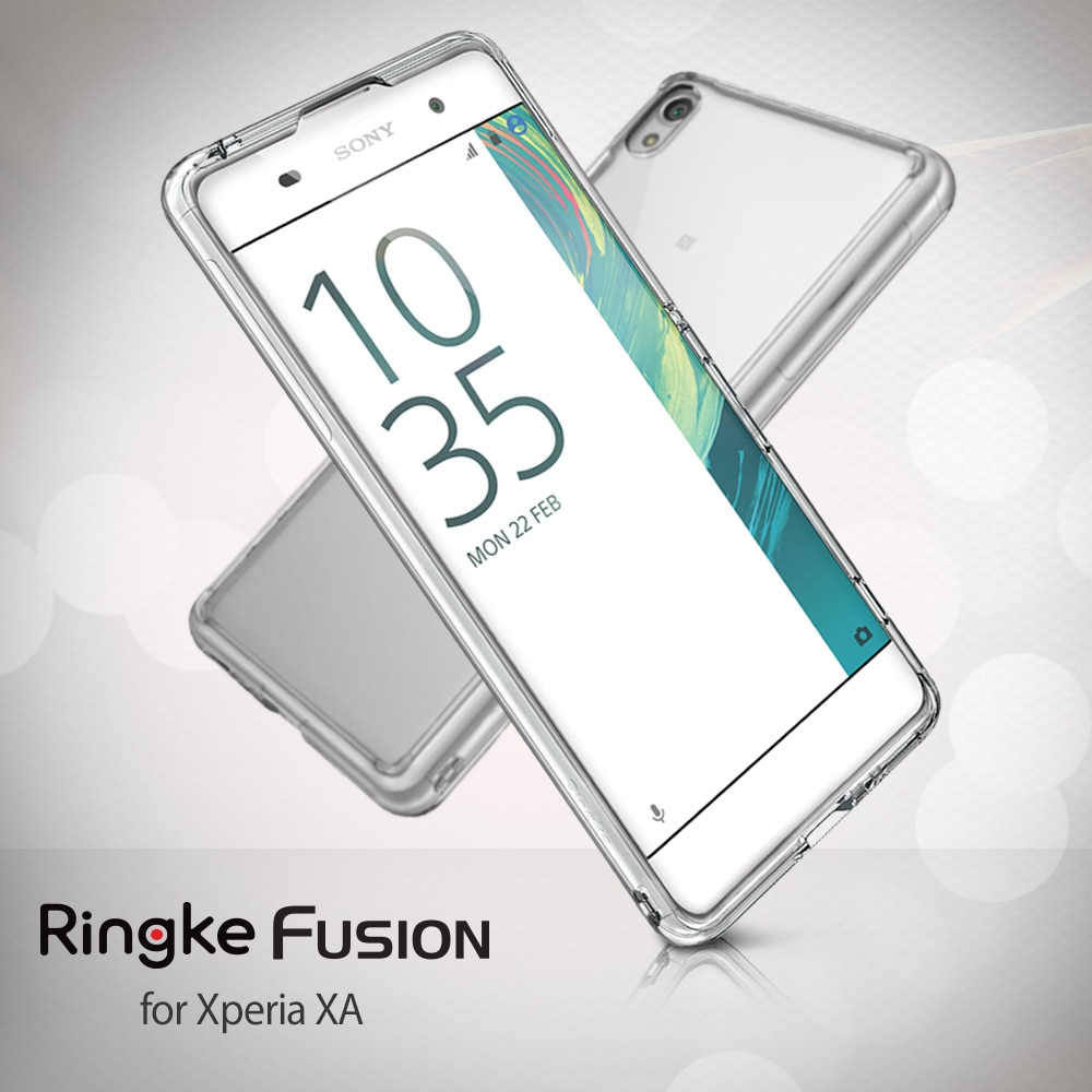 Sony Xperia XA Ringke Hybrid Drop Protection Fusion Case