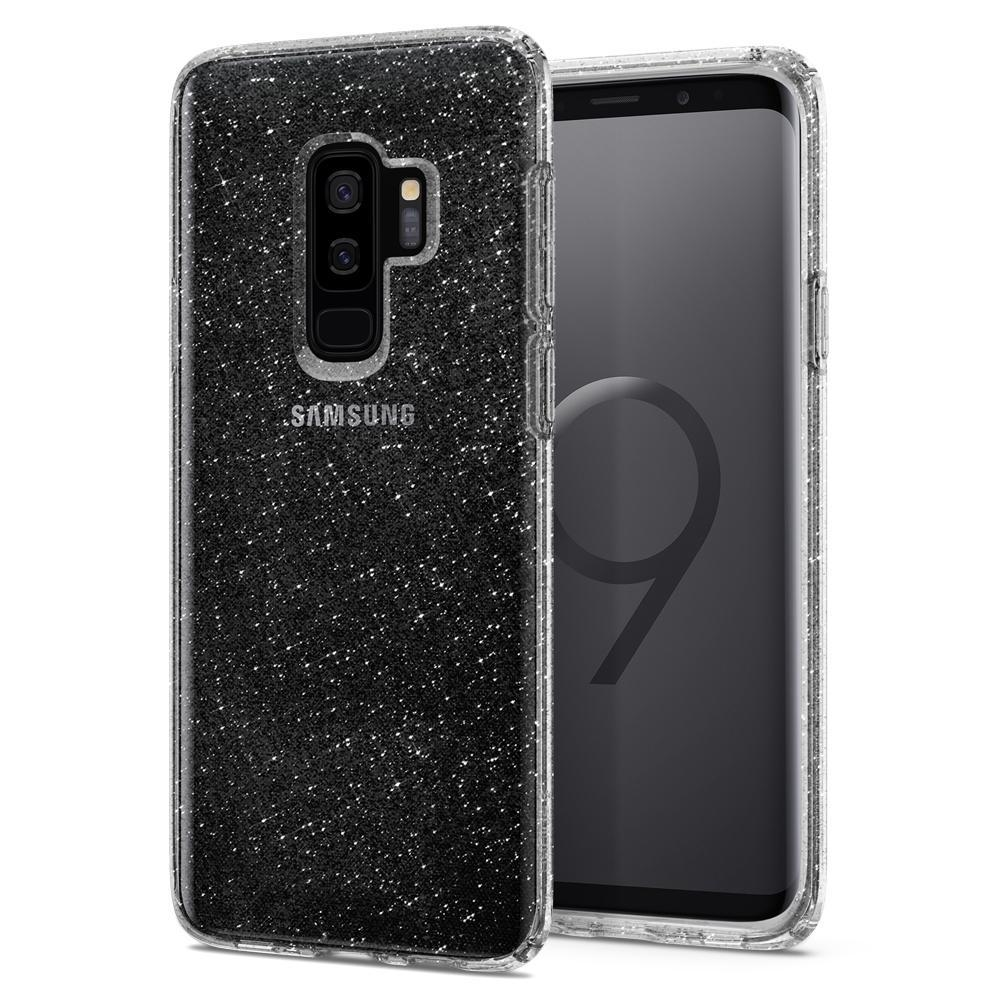 Galaxy S9 Plus Spigen Liquid Crystal Glitter Case - Crystal Clear