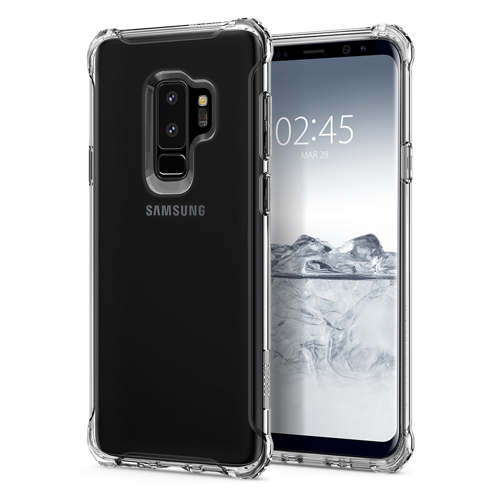 Samsung Galaxy S9 Plus Spigen Original Rugged Crystal Soft Case - Crystal Clear