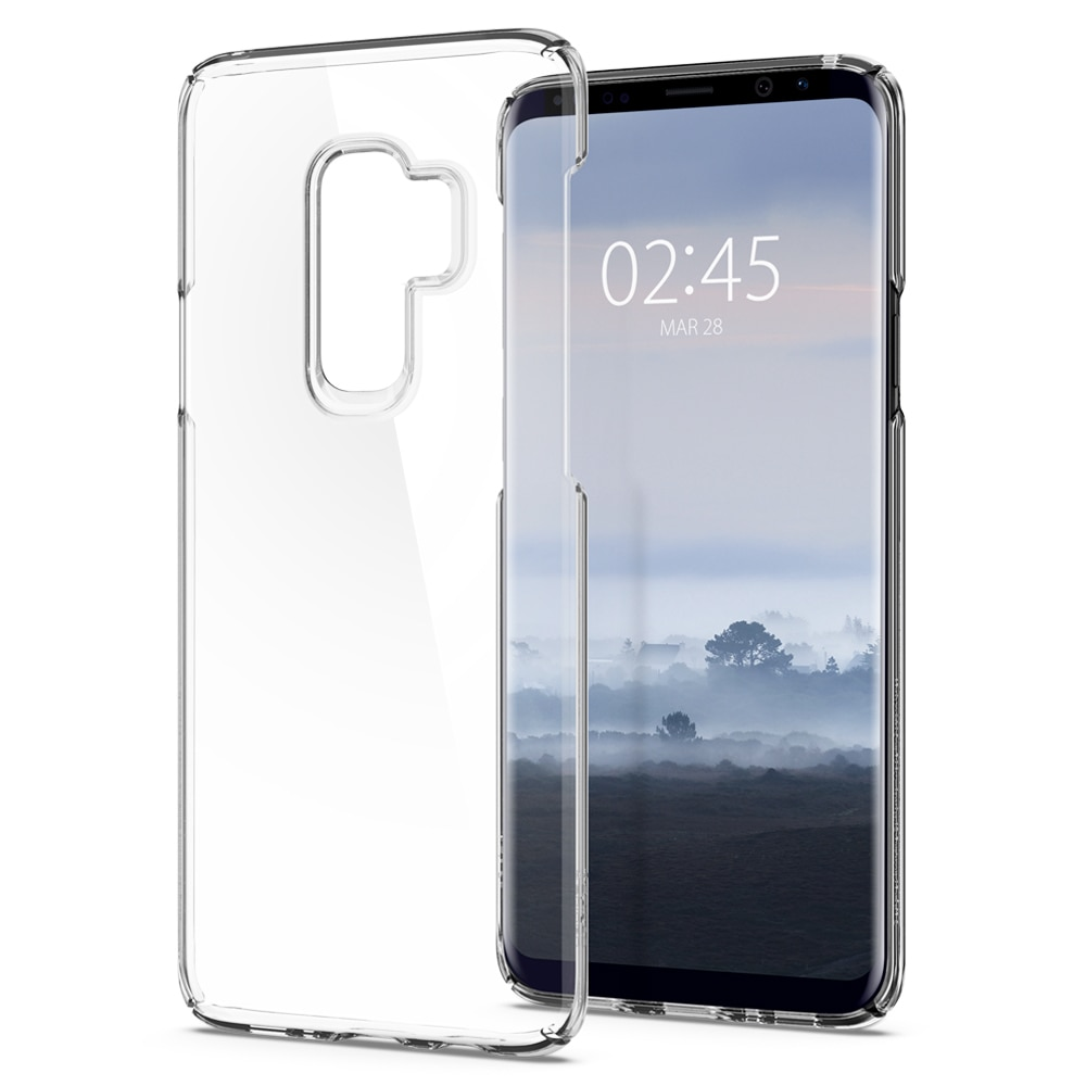 Samsung Galaxy S9 Plus Spigen Original Thin Fit Case - Crystal Clear
