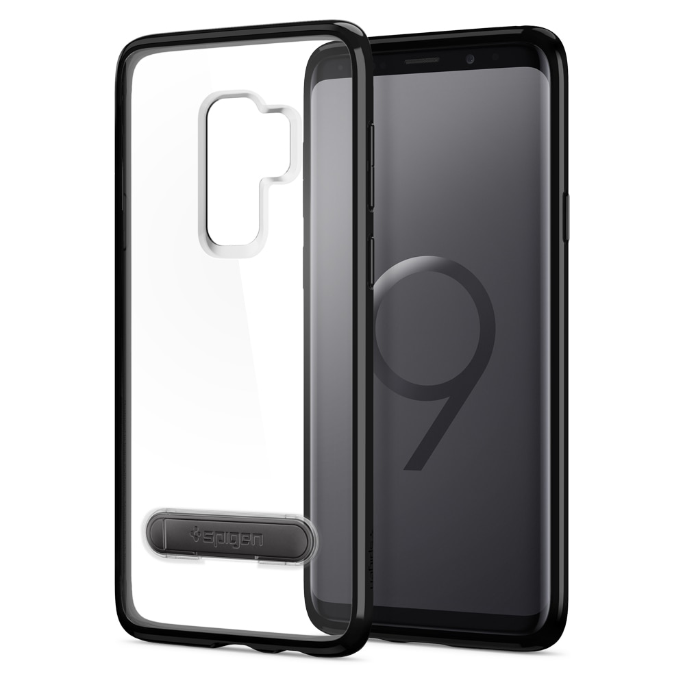 Samsung Galaxy S9 Plus Spigen Ultra Hybrid S Case - Midnight Black