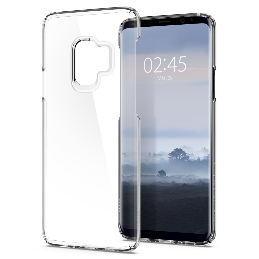 best website dc7c5 a2b87 Samsung Galaxy S9 Spigen Original Thin Fit Case - Crystal Clear