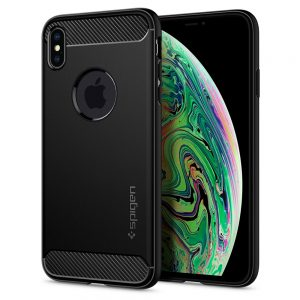 rugged armor for iphone xs max by spigen