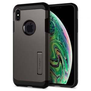 iphone xs max tough armor gunmetal