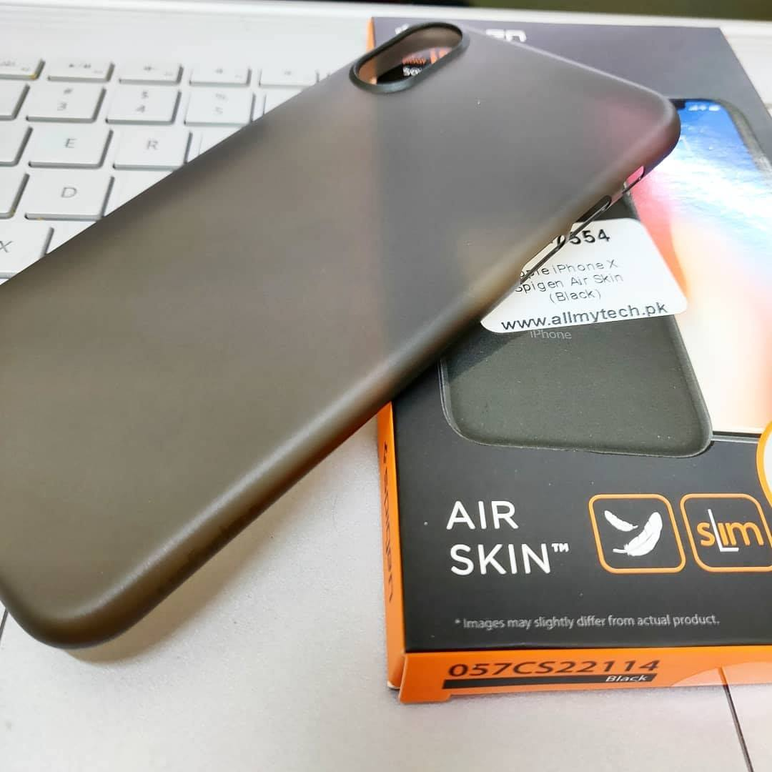 new arrivals fc3b1 1263b Air Skin by Spigen for iPhone XS Max - iPhone XS - iPhone XR - iPhone X