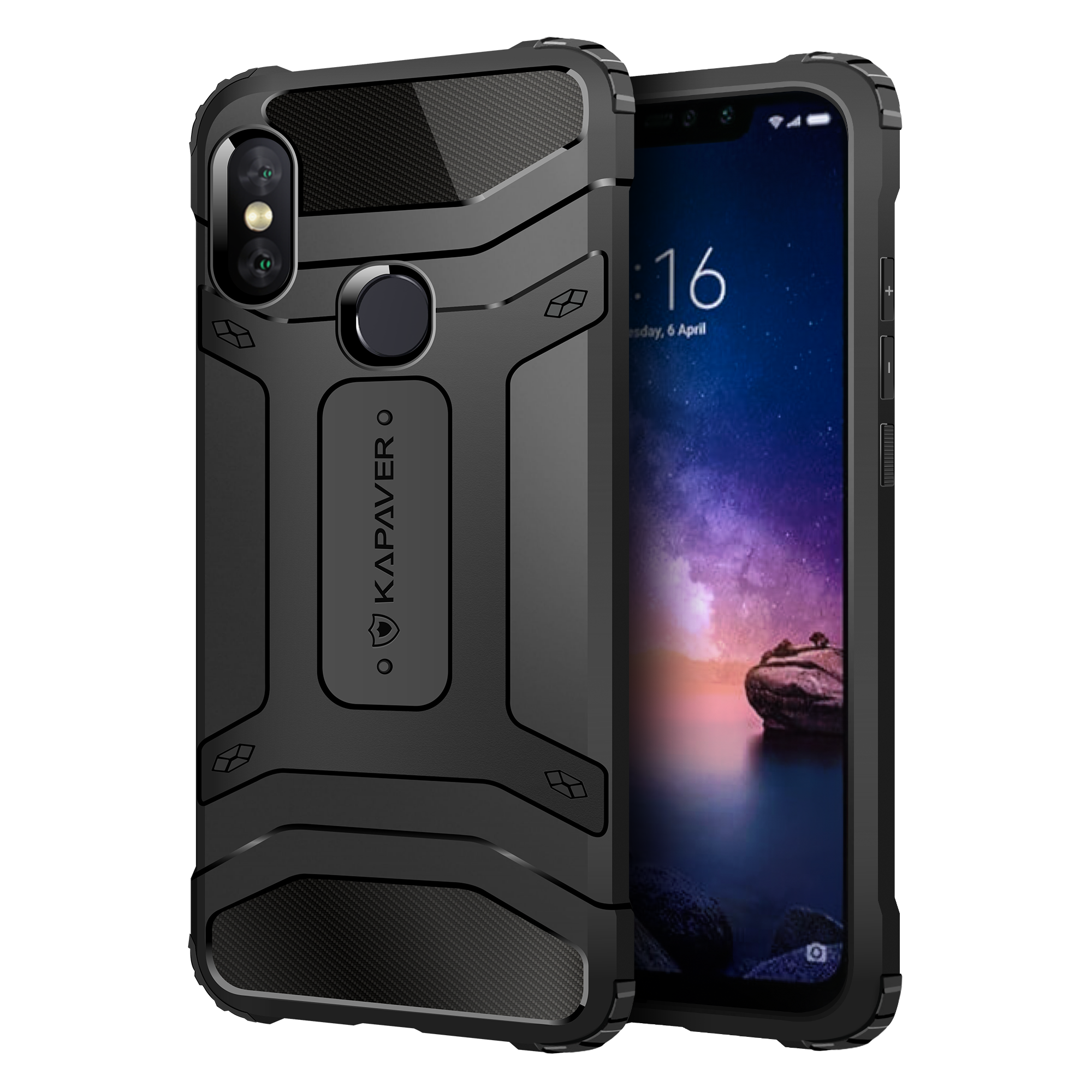 the latest f3e27 5ee46 Redmi Note 6 Pro Rugged Case by KAPAVER