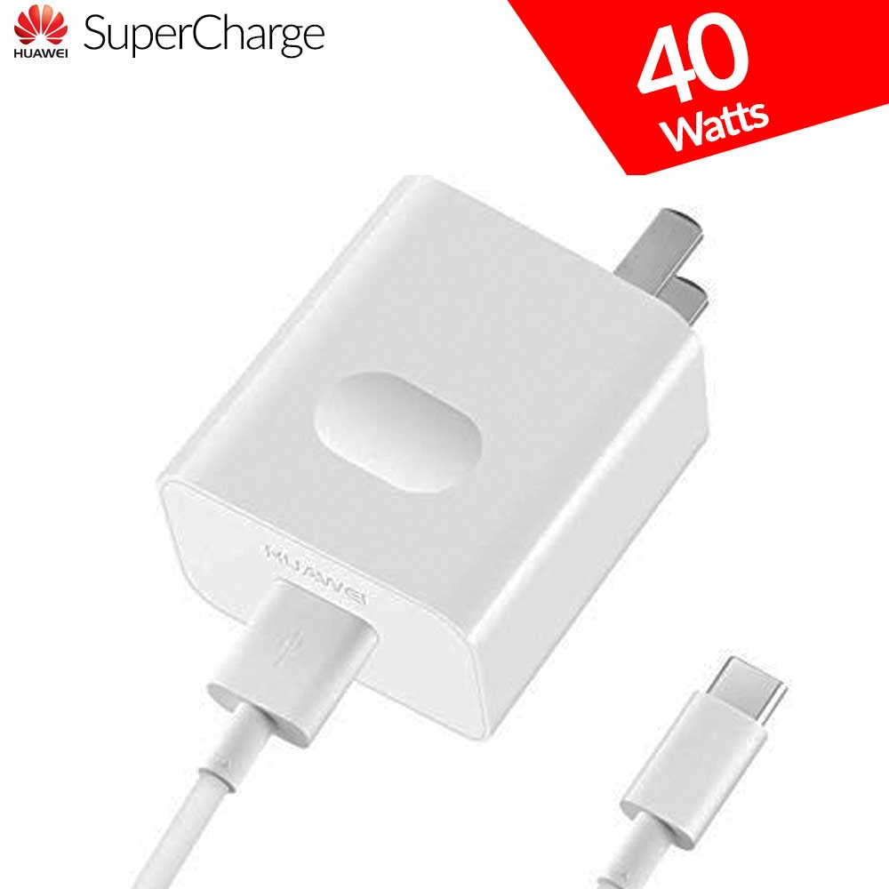 Huawei SuperCharge Fast Charger 40 W with Type C Cable – US Plug