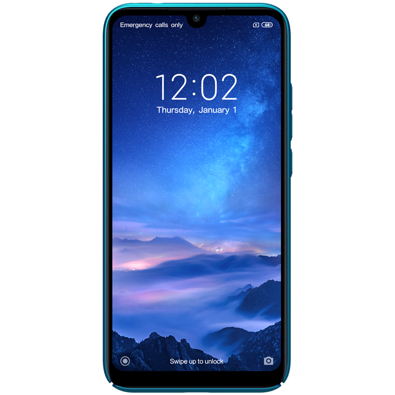 Redmi Note 7 Cover Frosted Shield Hard Back by Nillkin - allmytech pk