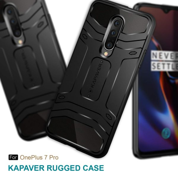 oneplus 7 pro rugged case by kapaver