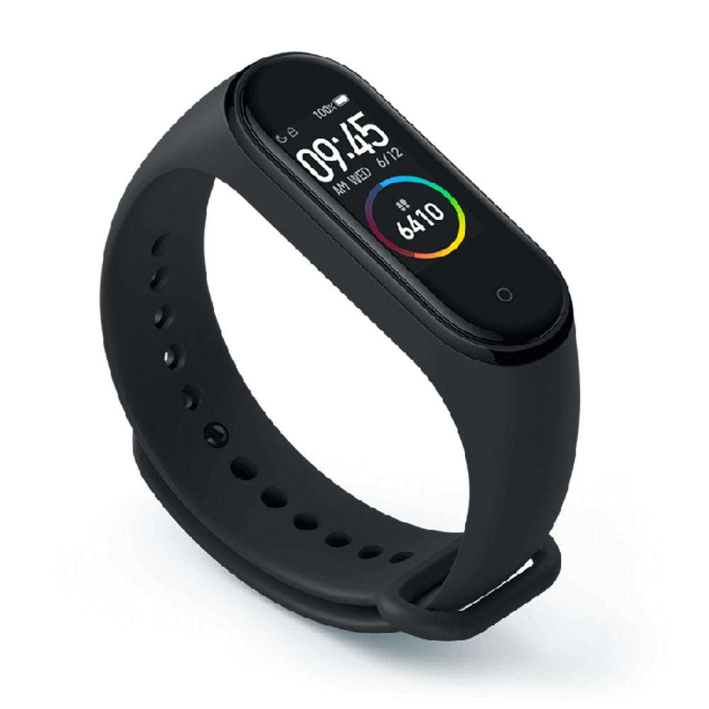 Mi Band 4 with Color Screen & 24 Hour Heart Rate Monitor ...