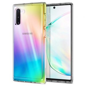 ultra hybrid galaxy note 10 spigen crystal clear