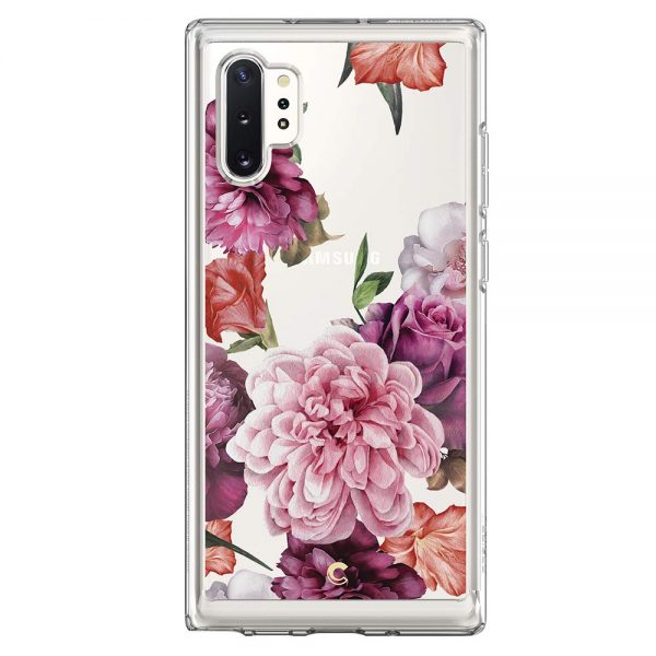 crysill rose floral note 10 plus spigen case