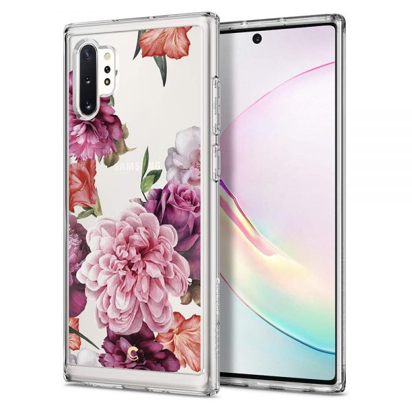 rose floral spigen cyrill women female note 10 plus case