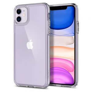 iphone 11 ultra hybrid crystal clear spigen by