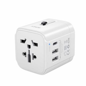 aukey universal travel charger pa-ta01 white