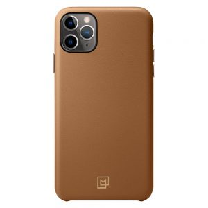 iphone 11 pro leather case camel brown