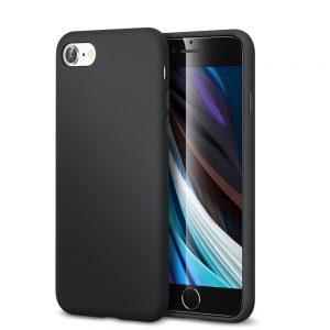 iphone se 2020 esr soft silicon case black in pakistan